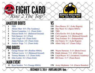 Fightcard